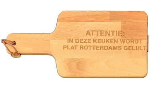 "Snijplank ""Plat Rotterdams"""