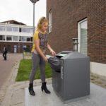 Rotterdam pakt afval naast container aan met cameratoezicht