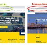 Criminelen kopiëren website van Rotterdamse haven
