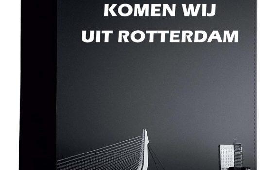 """A5 Schrijfmap """"Komen wij uit Rotterdam"""""""